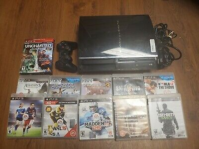 Launch Edition Sony PlayStation 3 Launch Edition 60GB W/ 15 games (CECH-A01)