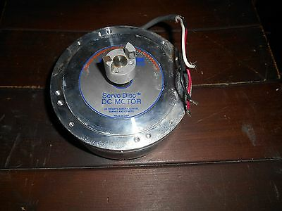 Kollmorgen Servo Disc Dc Motor 00d12a02112-2  U12d-a