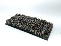Warhammer Big Bases Rectangular For Monster With Texture Skull Pro Painted -  - ebay.it