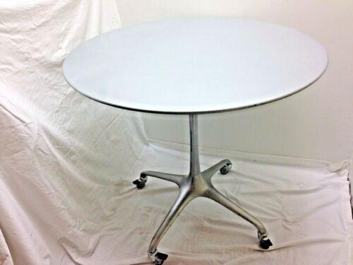 "Bernhardt Design Metal Table Go Chair by Ross Love Grove 36"" Round 33"" Tall RARE"
