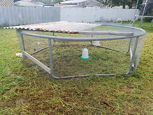 Chook pen - old trampoline Woodberry Maitland Area Preview