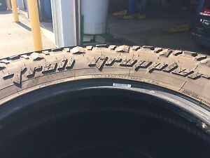 4 pneus 37x12.5x17 LT nitto trail grappler