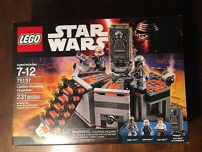 New & Sealed LEGO Set 75137 Star Wars Carbon Freezing Chamber Han Solo Boba Fett