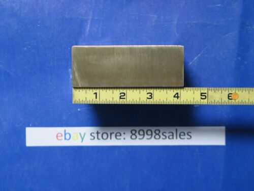 "C630  NI AL  BRONZE  1-1/2"" X 4""  RECTANGLE  BAR  5"" SOLID  BAR  STOCK  @8.5 LB"