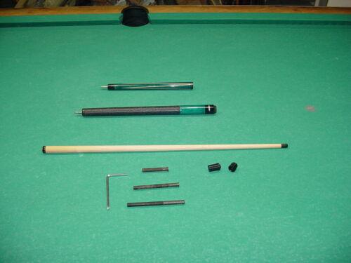 ADJUSTABLE WEIGHT PHENOLIC TIP JACKHAMMER BREAK JUMP CUE pool billiards 18-1520