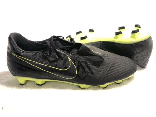 Nike Phantom Venom Academy Soccer Shoes Cleats Black/Volt Si