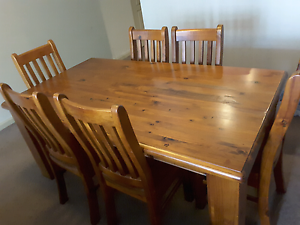Normandy 7 piece dining set with 6 chairs Ryde Ryde Area Preview