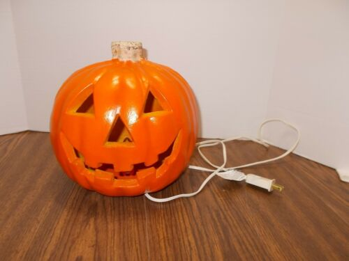 VINTAGE 1998 PAPER MAGIC GROUP BLOW MOLD HALLOWEEN PUMPKIN GREAT CONDITION