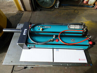 Tox Pressotechnik Air Over Hydraulic Cylinder 15000lb Force Build Your Own Pres