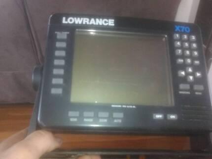 Lowrance x 70 fish finder