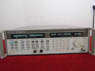 Agilent Hp 83752b Opt1e1 1ed .01-20 Ghz Synthesized Sweeper