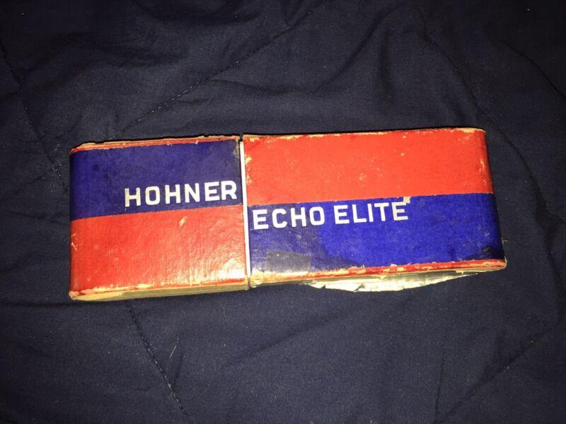 Hohner Echo Elite Harmonica