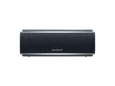 Sony SRS-XB21 kabelloser Bluetooth Lautsprecher (tragbar, farbige Lichtleiste)