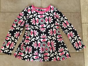 Size 5 Carter's Pink & Black Tunic