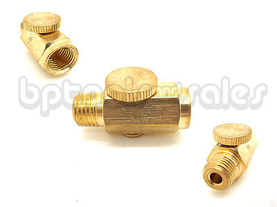 Air Regulator Pressure Adjustable Solid Brass 14 Npt Fitting For Air Tools