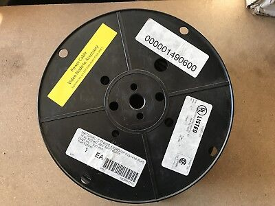 Military Surplus 320 Power Cable Video Ft-2 P-7k-123033 300v Rohs