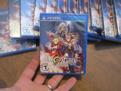 Fate/Extella: The Umbral Star PS VITA Sony PlayStation PSVITA NEW FACTORY SEALED