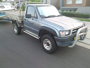 Toyota hilux 4x4 lpg dual fuel ute tray back Green Valley Liverpool Area Preview