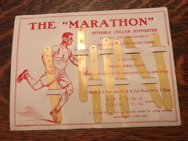 THE MARATHON, Vintage Display Of Invisible Collar Supporters