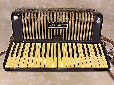 Vintage Wurlitzer Accordion in Case