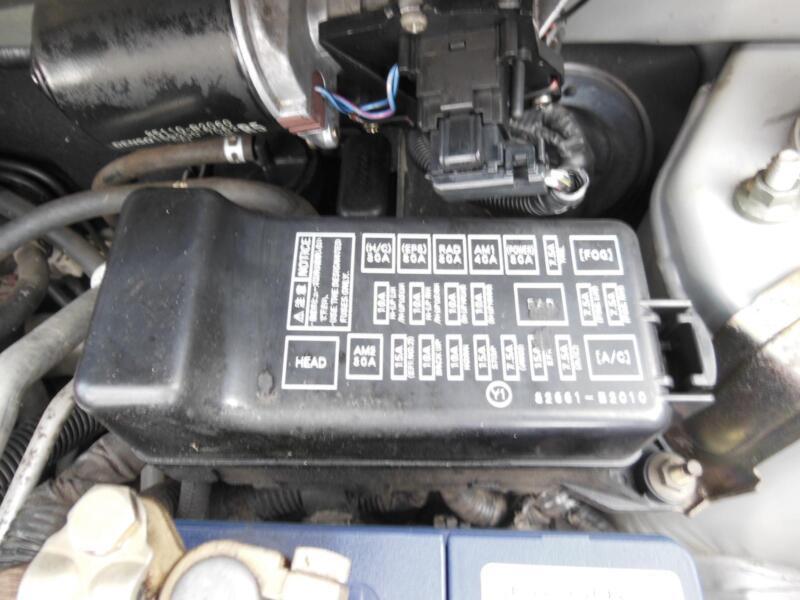 Daihatsu Charade Fuse Box In Engine Bay L251 07 03 07 05 Ebay Circuit Breaker Diagram 2016 Daihatsu Charade Daihatsu Charade G11 At IT-Energia.com