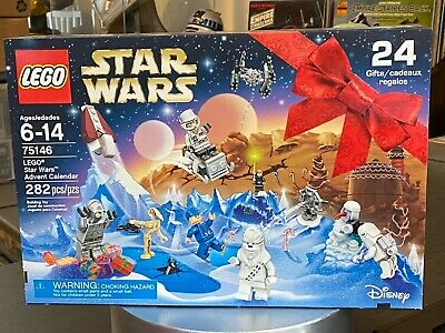LEGO Star Wars Advent Calendar 2016 (75146) New Factory Sealed MINT BOX