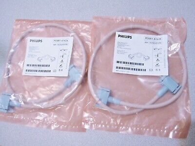 Philips M3081-61626 Lot Of 2 Msl Link Cables Monitormms Communication - New