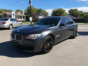 2012 BMW 750i xDrive Li XDRIVE M PACK NAV CAMERA TV DVD 15999$ G