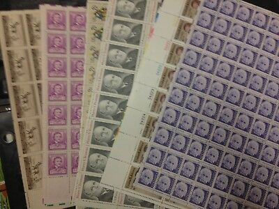 $100 Face Value UNUSED US POSTAGE STAMPS united states uncancelled 1c-49c