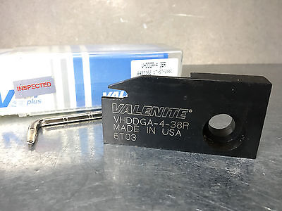 New Valenite Cut-off Indexable Lathe Tool Anvil Head Vhddga-4 38r