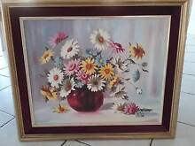 Original oil painting of flowers. Sylvania Waters Sutherland Area Preview