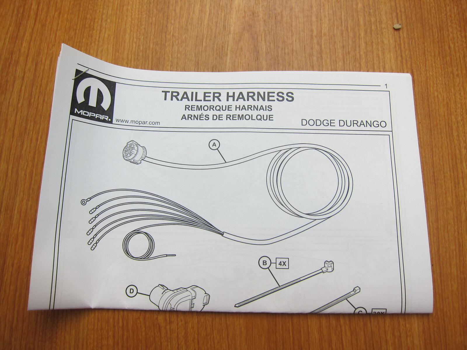 Dodge Durango Wiring Harness Diagram