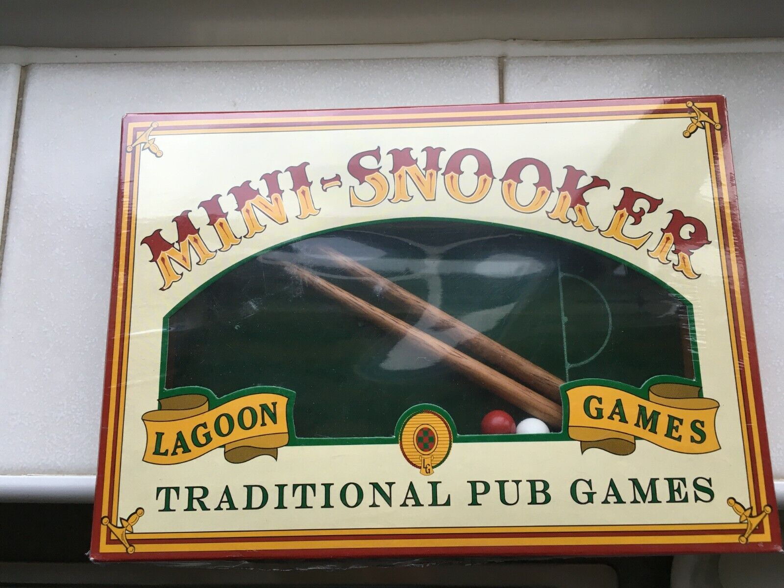 Mini Snooker Traditional Game by Lagoon