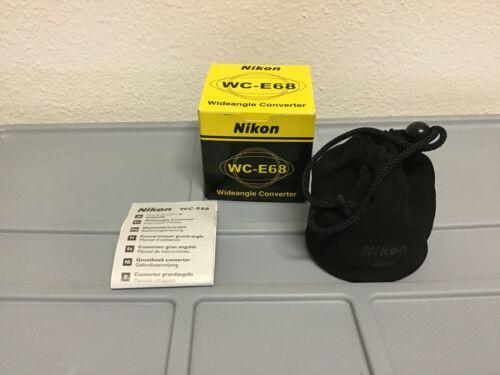 Nikon WC-E68 Wide Converter (Wide Angle Lens)