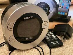 Sony Dream Machine Dual Alarm Clock Radio ICF-C7iP  iPod iPhone 4 Dock