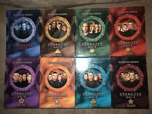 Stargate SG1 - Seasons 1-8 DVD Box Sets