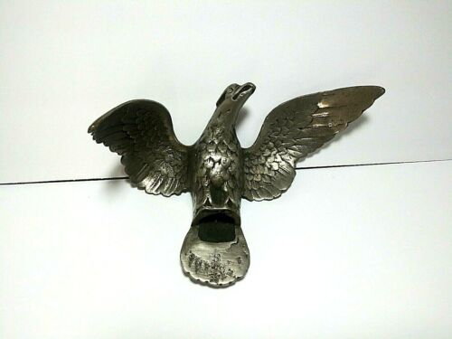 Vintage Eagle Flag Topper Finial Heavy