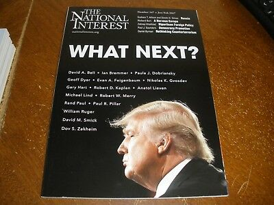 The National Interest Magazine What Next? Donald Trump Cover Jan/Feb 2017