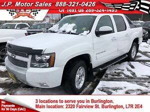 2011 Chevrolet Avalanche LT, Crew Cab, Leather, Back Up Camera,