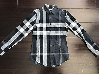 Burberry Men's Plaid Shirt Small