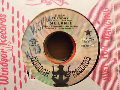Melanie   Merry Christmas   Ruby Tuesday  7  45 Record
