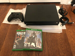 XBOX ONE X CONSOLE FOR SALE WITH GAMES!