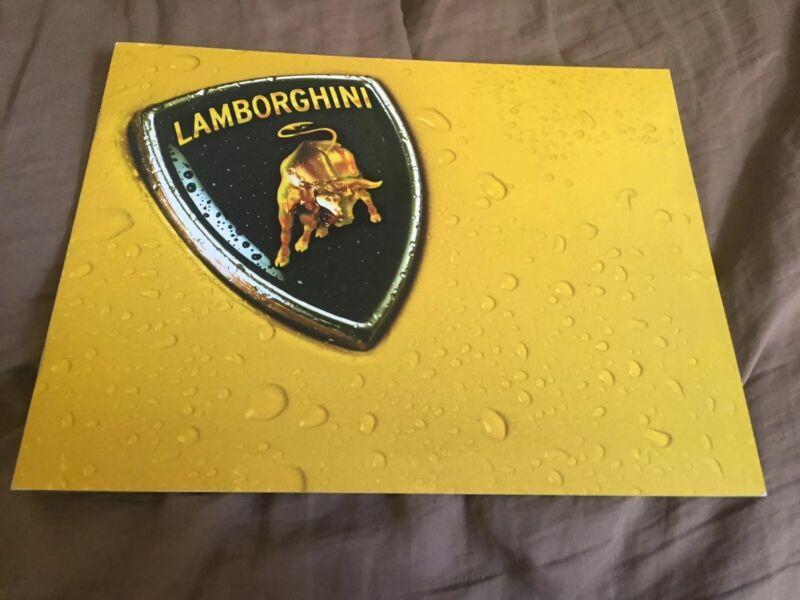 1990s Lamborghini Diablo VT and SV Color Brochure Catalog Prospekt