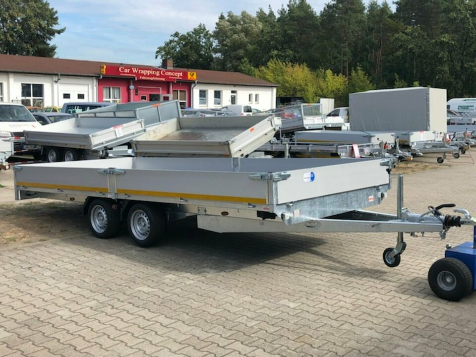⭐️ Eduard Pritsche 3000 kg 506x220x30 cm Alu Profi NEU 63 in Schöneiche bei Berlin