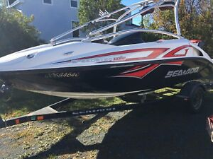 Seadoo speedster wake boat supercharged