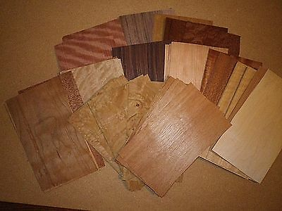 This Is A Box Of Mix Wood Veneer