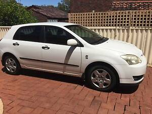 2004 Toyota Corolla Hatchback Como South Perth Area Preview