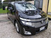 2010 Nissan Elgrand (#0713) 4WD 3,5L Black People's Mover Moorabbin Kingston Area Preview