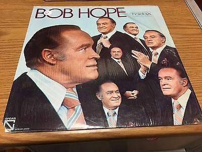 Bob Hope Holidays VG+ LP Spear Top Hits: Christmas, Easter, Halloween In Shrink - Bob Hope Halloween