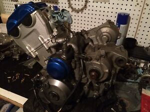 Built stroked and ported Yamaha yfz450 engine